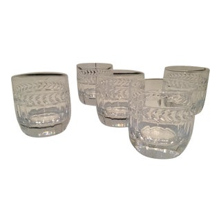 Villeroy & Boch Cocktail Glasses - Set of 5 For Sale