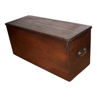 Rustic Wooden Storage Box