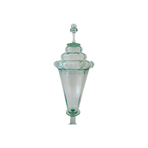 Bohemian Cabinet Glass Goblet & Cover - Image 3 of 5