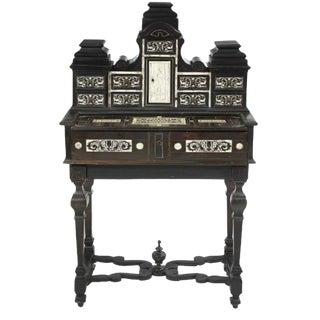 19th Century Italian Neo-Renaissance Writing Desk For Sale