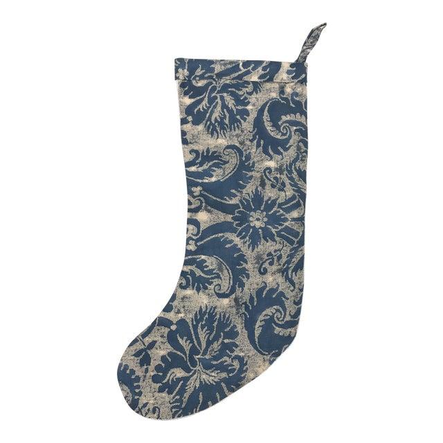 Fortuny Textile Christmas Stocking - Image 1 of 5
