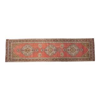 "Vintage Anatolian Rug Runner - 3'6"" x 13'5"""
