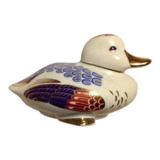 Tapestry Porcelain Duck