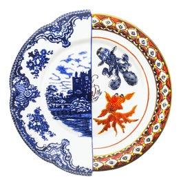 Image of Blue Dinnerware