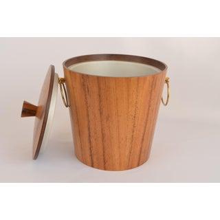 Mid Century Teak Ice Bucket Preview