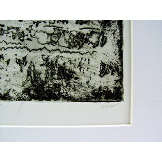 Abstract Black & White Etching Preview