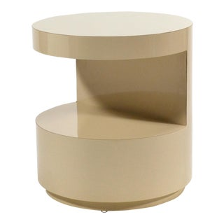 """Cut-Away"" Side Table by David Russ For Sale"