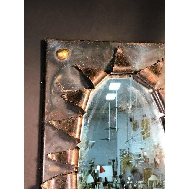 Brutalist Brutalist Eye Form Mirror For Sale - Image 3 of 9