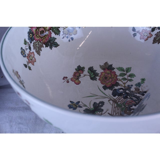 20th Century Asian Spode Punch Bowl For Sale In New York - Image 6 of 7