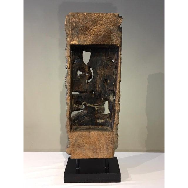 1990s Floral Totem Sculpture For Sale - Image 4 of 8