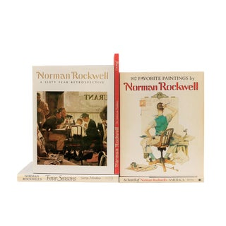 Norman Rockwell Art Book Collection - Set of 5 For Sale