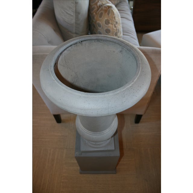 Westgate Urn & Pedestal - A Pair For Sale - Image 4 of 6