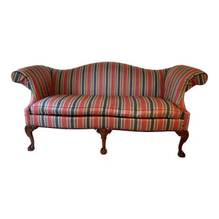 Vintage Southwood Neo-Colonial Sofa For Sale