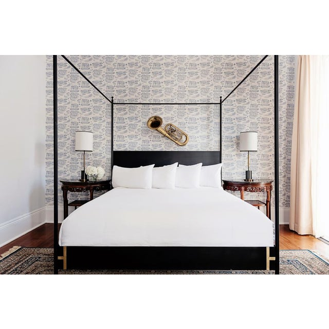 2010s Contemporary Josephine Canopy King Size Bedframe For Sale - Image 5 of 7