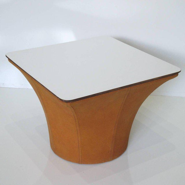Acrylic Pierre Paulin Style Mid-Century Modern Mushroom Side Tables - a Pair For Sale - Image 7 of 11