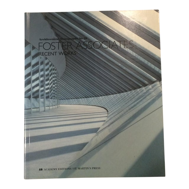"Image of ""Foster Associates: Recent Works"" Architectural Monographs, No 20 Book"