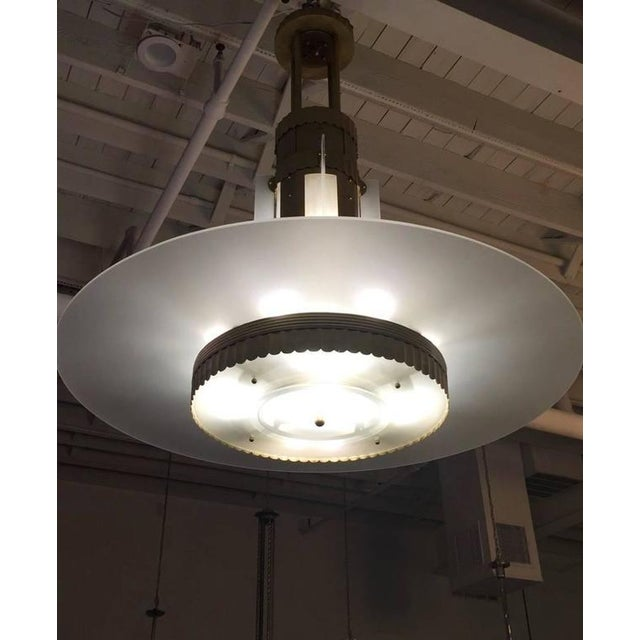 Art Deco Grand Theater Chandelier For Sale - Image 9 of 10