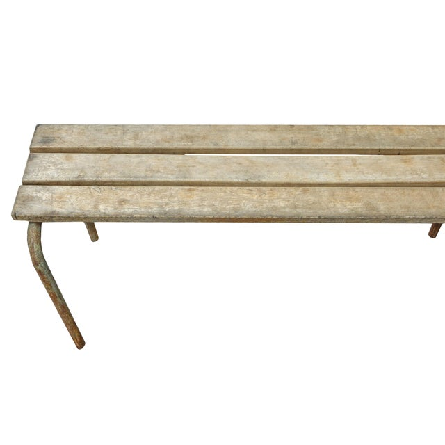Pair of Swedish Industrial Benches For Sale - Image 11 of 13