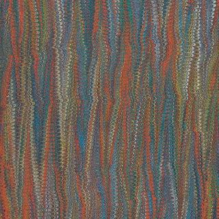 Scalamandre Ebru Silk Weave in Jewel Sample For Sale