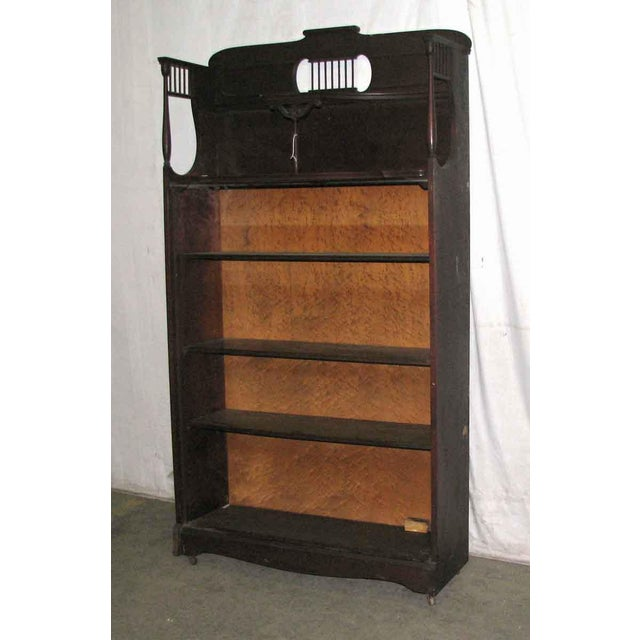 Mahogany Bookcase For Sale - Image 6 of 9