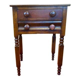 19th Century Walnut Side Table