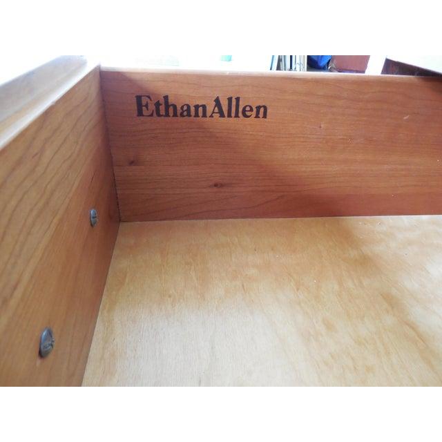 Ethan Allen Ethan Allen Georgian Court Bookcase For Sale - Image 4 of 9