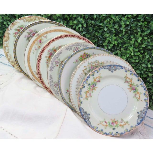 Vintage Mismatched Appetizer Plates, Set of 8 For Sale - Image 11 of 11