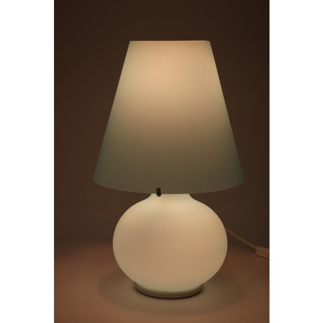 "Late 20th Century ""Paralume"" Murano Due Mid-Century Modern Glass Table Lamp For Sale - Image 5 of 13"