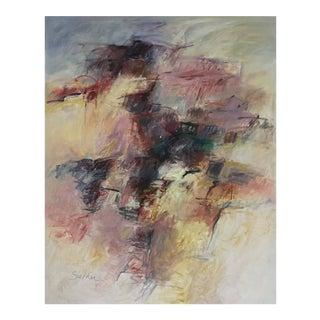 """Purple Haze"" Acrylic on Canvas"