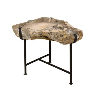 19th Century French Stone Trough Coffee Table For Sale