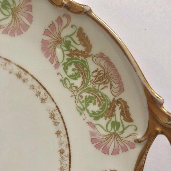 Antique Jean Pouyat Limoges Plate For Sale In New York - Image 6 of 11
