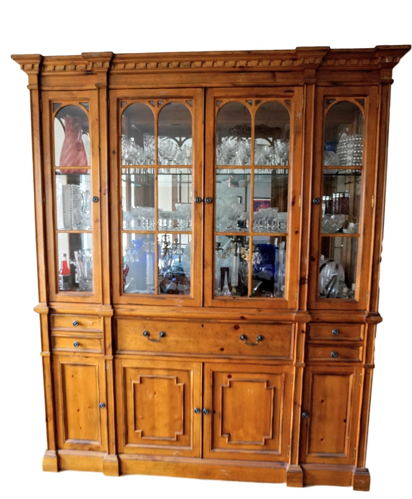 Drexel Heritage Drexel Heritage Pinehurst Collection China Cabinet For Sale    Image 4 Of 4