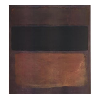 Mark Rothko, No. 10 (1963), Offset Lithograph, 1998 For Sale