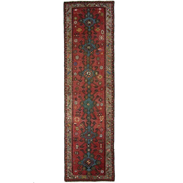 Vintage Turkish Moldovan Runner - 3'5'' x 13'' - Image 1 of 3