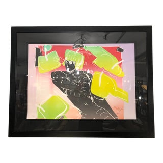 """Peter Max Medium Lithograph of the """"The Dancer/Image 7"""" For Sale"""