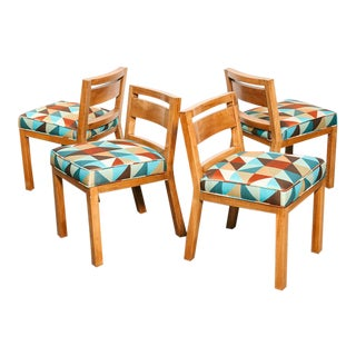 Set of 4 Dining Chairs by Van Keppel-Green For Sale
