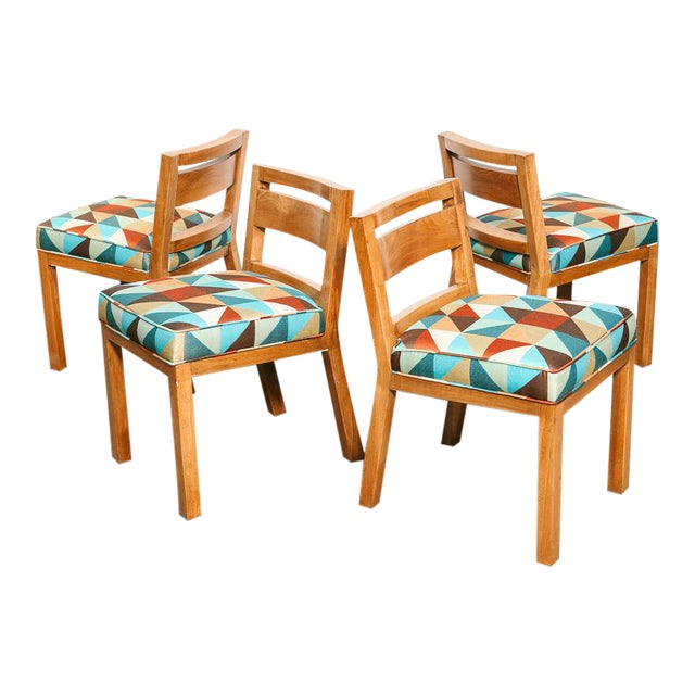 Magnificent Set Of 4 Dining Chairs By Van Keppel Green Ibusinesslaw Wood Chair Design Ideas Ibusinesslaworg