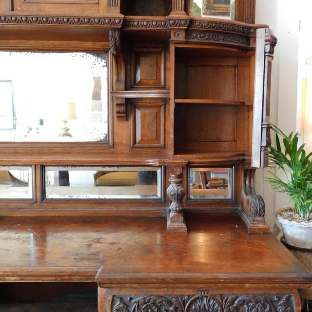 Early 20th Antique European Hutch For Sale In San Francisco - Image 6 of 10