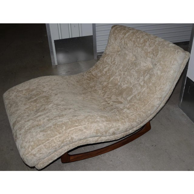Adrian Pearsall Wave Rocker Mid 20th Century Fantastic mid-century modern wave rocker by noted designer and furniture...