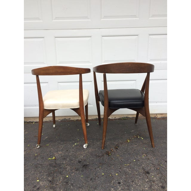 Lawrence Peabody for Richardson Nemschoff Chairs - A Pair For Sale - Image 5 of 11