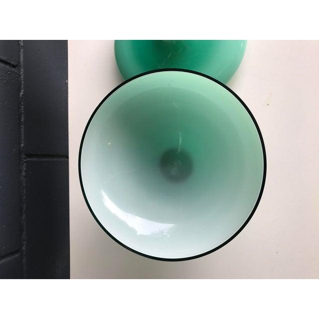 Vintage Aqua Apothecary Jar - Image 8 of 9