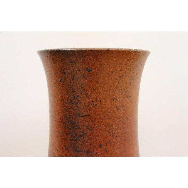 1980s German Studio Pottery Vase For Sale - Image 5 of 11