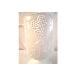 Mid-Century Large Milk Glass Pitcher Preview