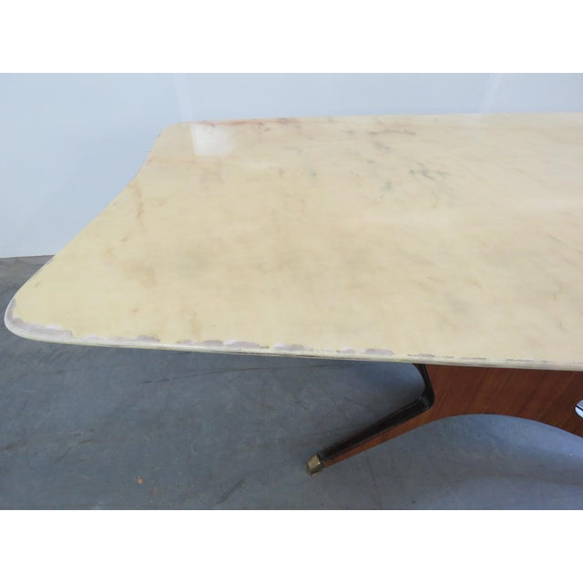 Borsani Marble Top Dining Room Table For Sale In Philadelphia - Image 6 of 11