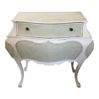 1980s Shabby Chic Bombe Chest For Sale