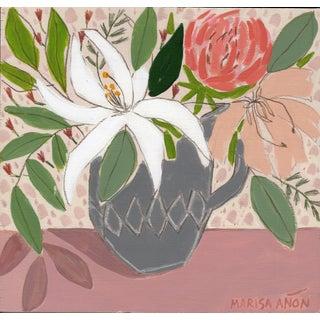 """""""April Florals 9"""" Original Painting by Marisa Añón For Sale"""