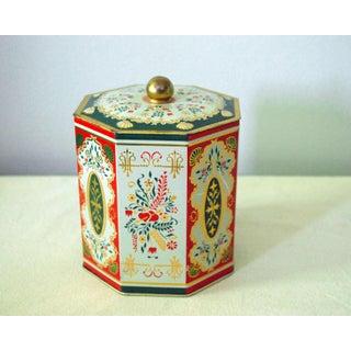 Vintage West German Tin Box Preview