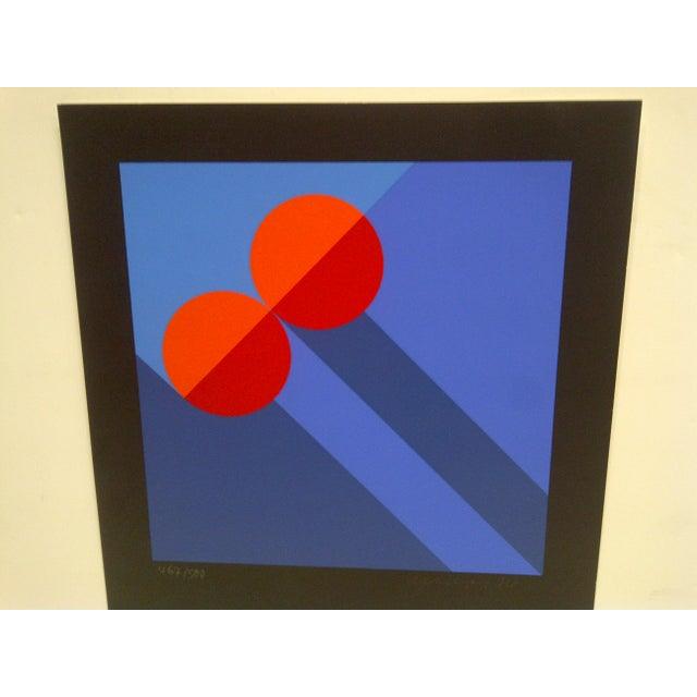 """""""Rising Circles"""" Signed Print - Image 4 of 7"""