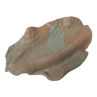 Vintage Art Deco Ceramic Sculpture/Decor For Sale