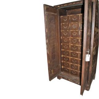 Vintage European Industrial Steel Cabinet Preview